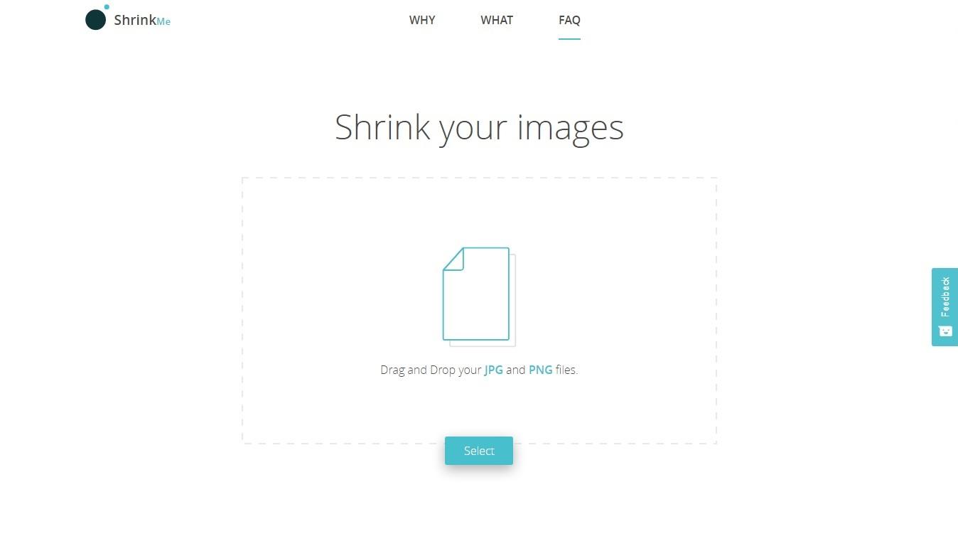 Shrink Me - Imagem 1 do software
