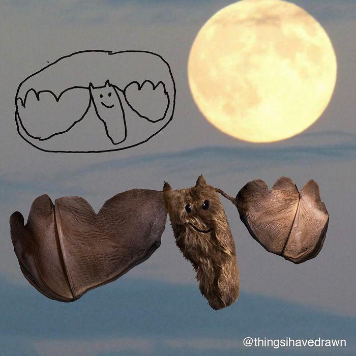 Morcego fofo