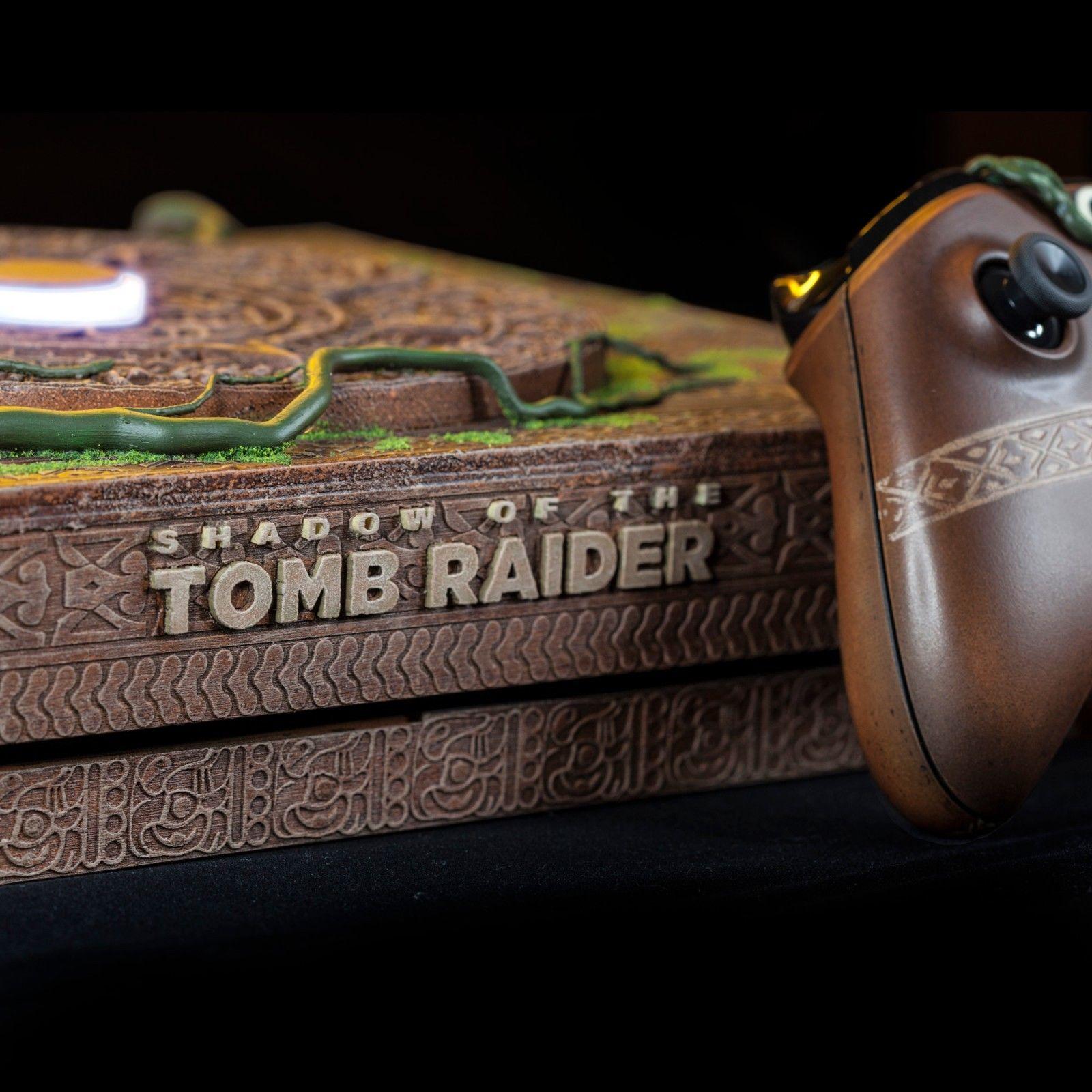 Xbox One X de Shadow of the Tomb Raider é espetacular – mas só existe um