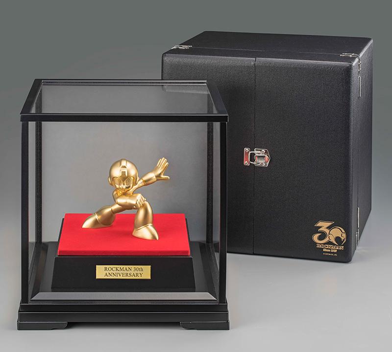 "Estátua de ouro de aniversário de Mega Man custa ""só"" R$ 89 mil"