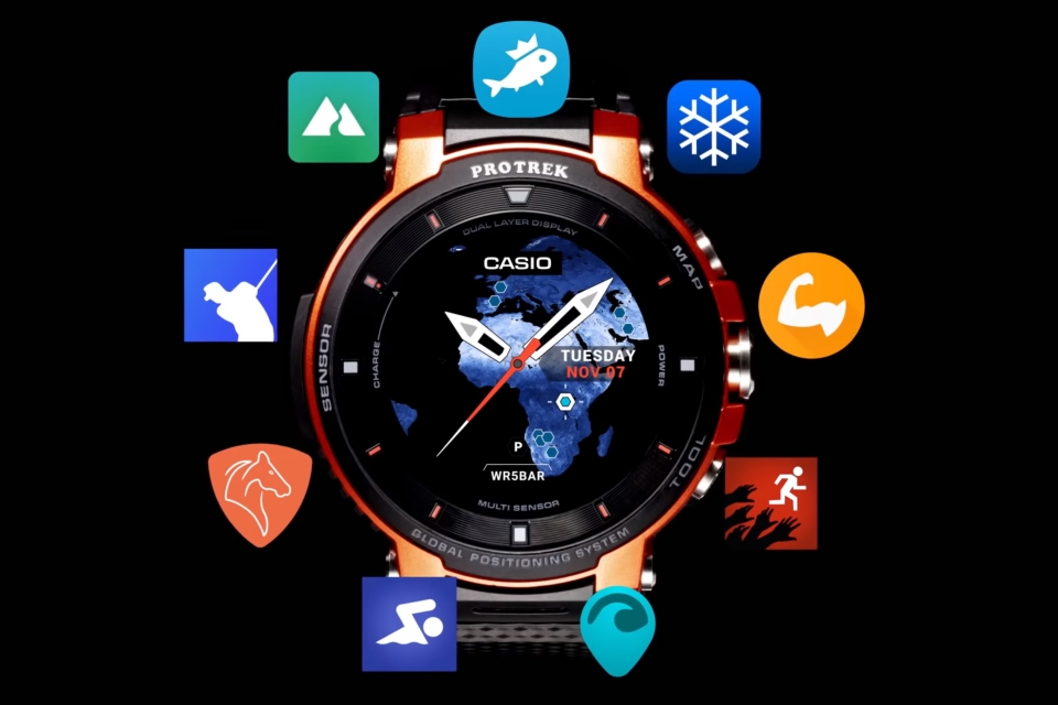 467587b4a Casio anuncia novo smartwatch e destaca duração da bateria
