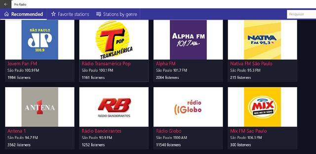 Pro Radio - Imagem 1 do software