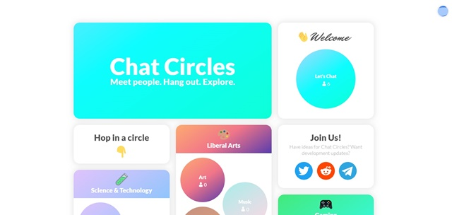 Chat Circles - Imagem 1 do software