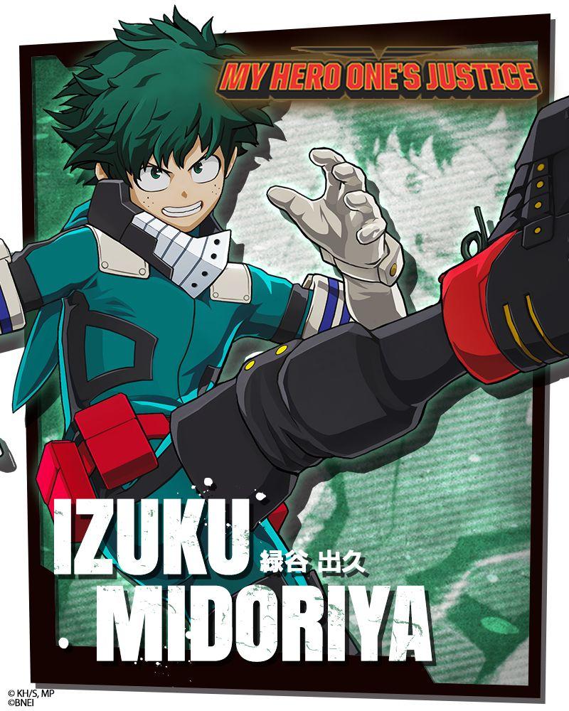 My Hero Academia: One's Justice ganha imagens de novo estilo de Deku