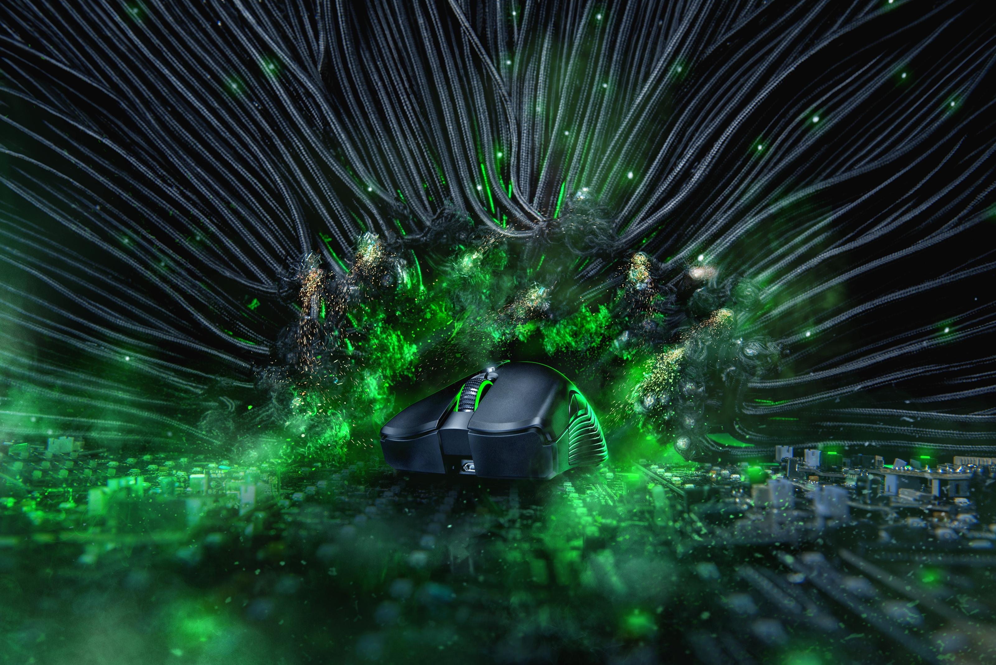 Razer revela novas versões (e caras) do Kraken, BlackWidow e Mamba