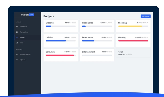 Budget.cool - Imagem 1 do software