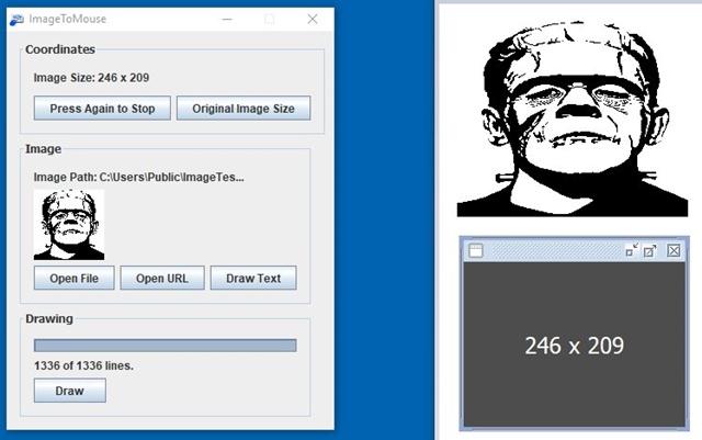 ImageToMouse - Imagem 1 do software