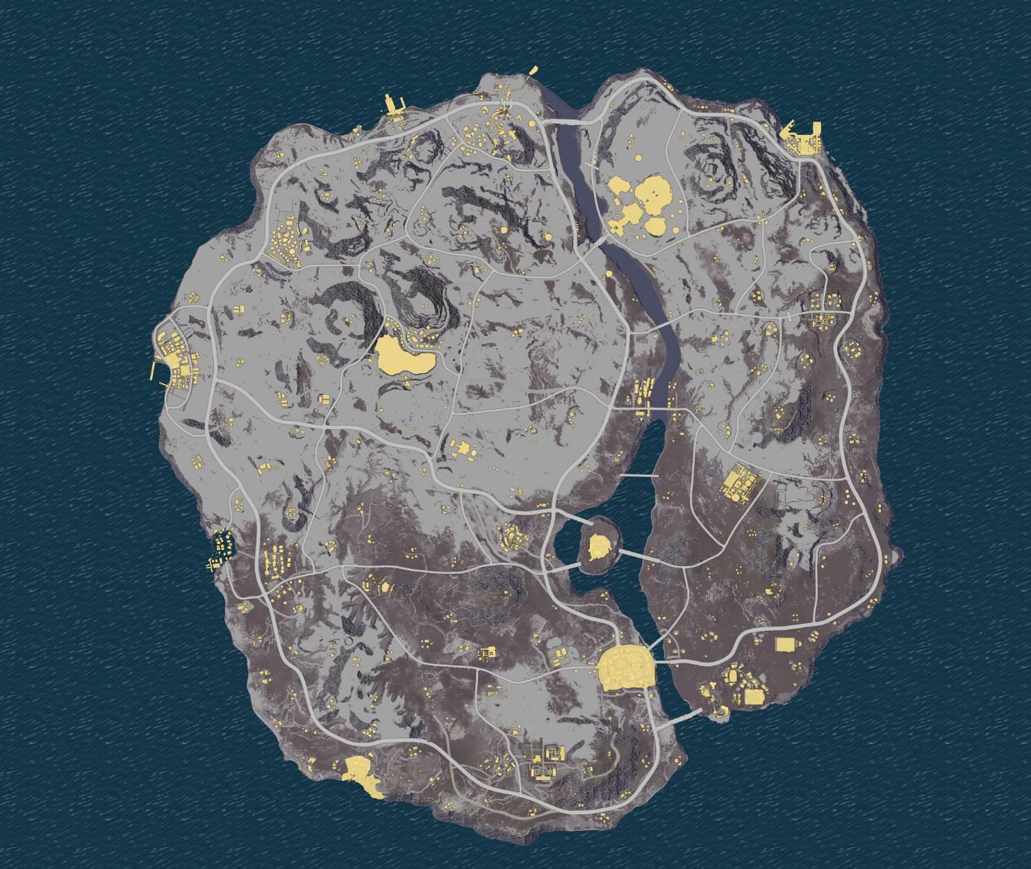 Arquivos de PUBG revelam novo mapa na neve e outras novidades