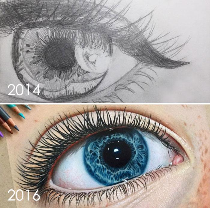 evolução artística