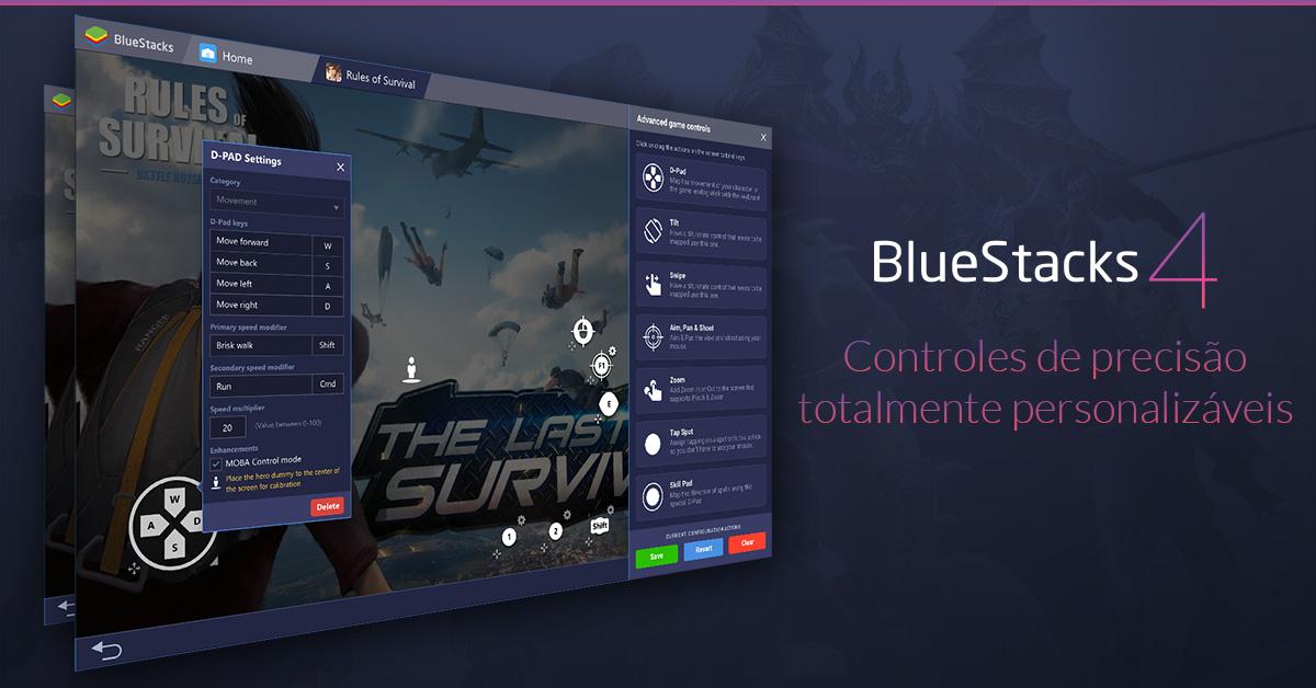 Jogos de Android a jato no PC? A versão 4 do BlueStacks está aqui!
