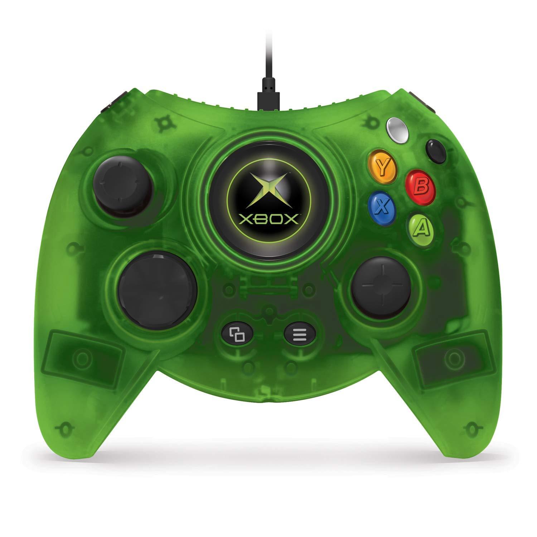 Controle clássico do Xbox, o Duke, ganha uma versão em verde transparente
