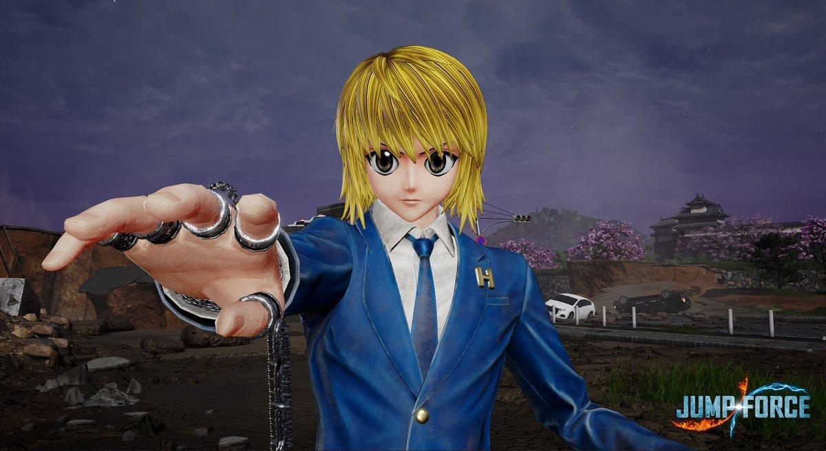 Killua e Kurapika, de HunterxHunter, ganha primeiras imagens em Jump Force