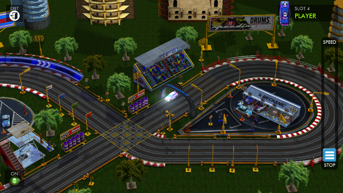 HTR+ Slot Car Simulation - Imagem 1 do software