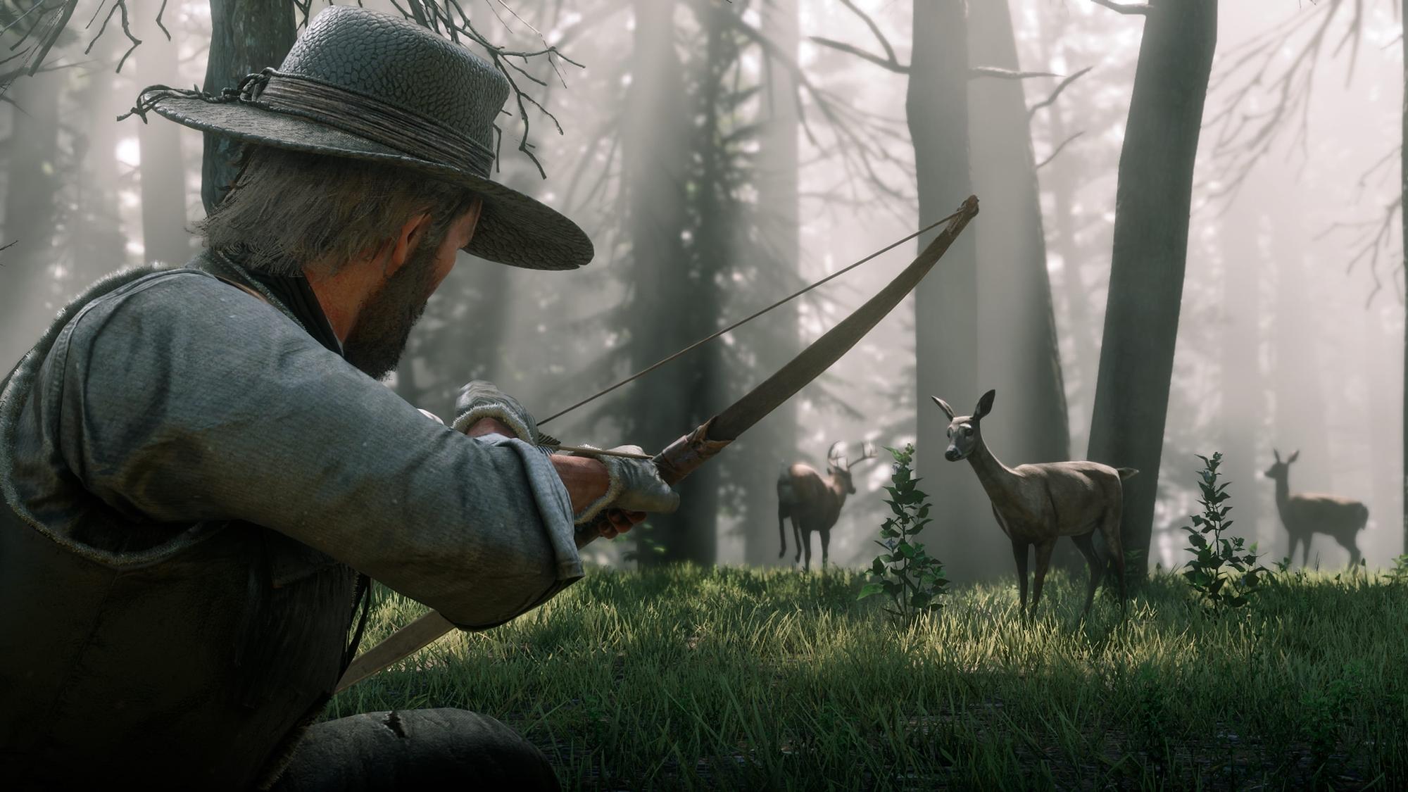 Red Dead Redemption 2: arma e calibre definem qualidade da carne da caça