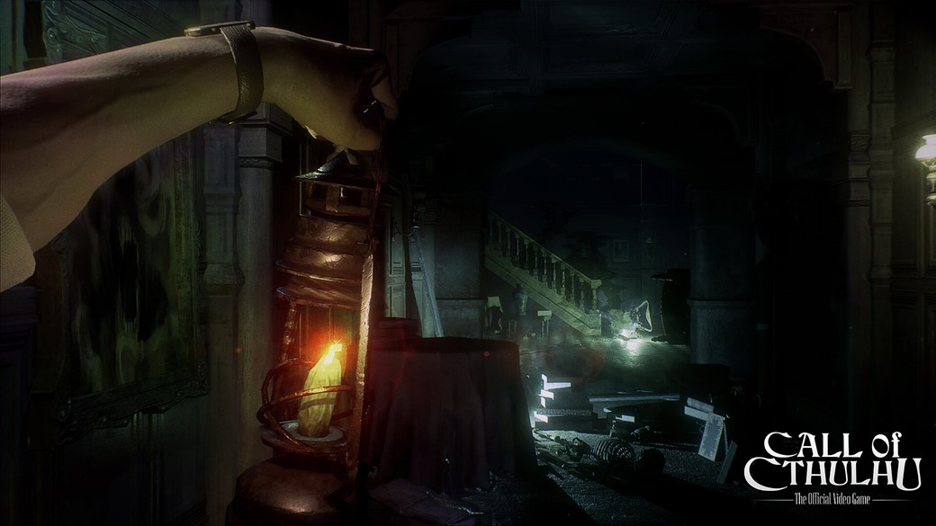 call of the cthulhu video game