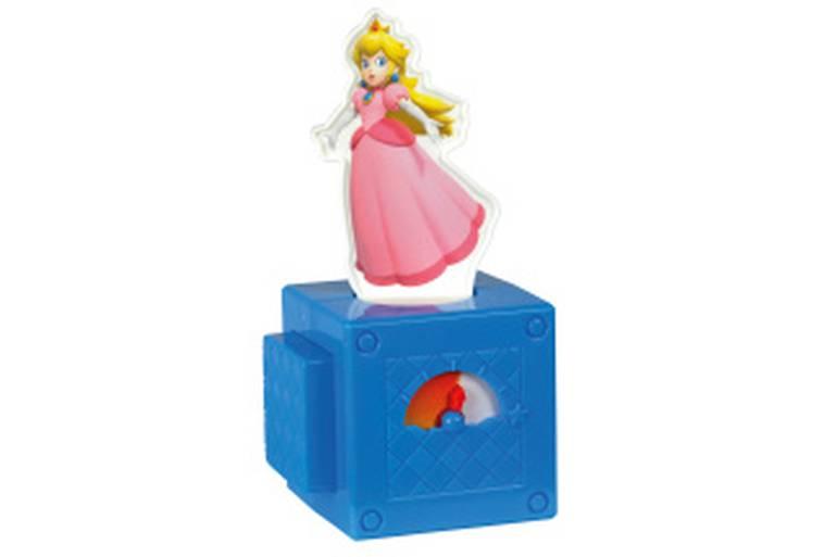 Nesse brinquedo girador da Princesa Peach, seu objetivo é clicar muitas vezes no botão para fazer a princesa girar! Para ganhar: basta completar o desafio mais rápido e ver o contador de flechas subir