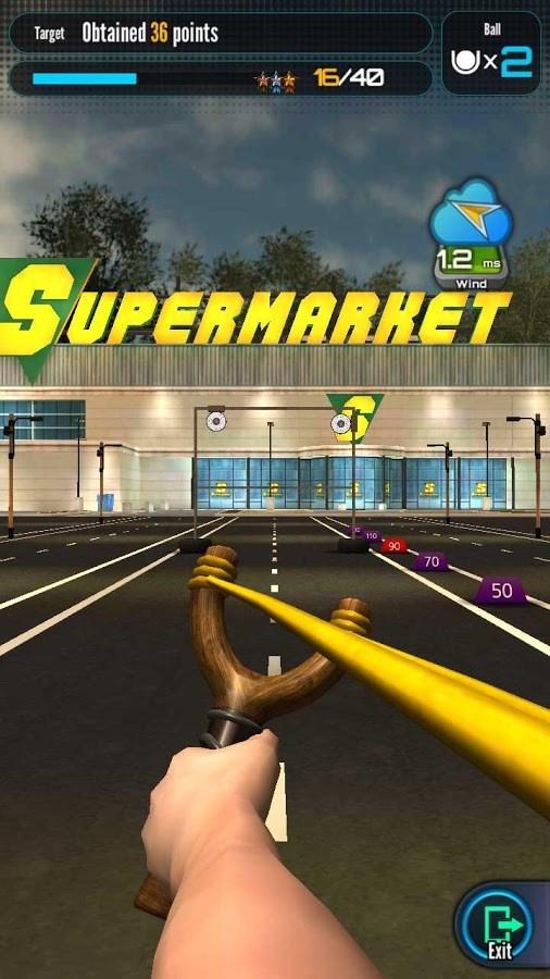 Campeonato de Estilingue - Imagem 2 do software