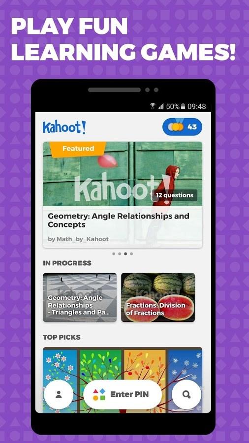Kahoot! - Imagem 1 do software