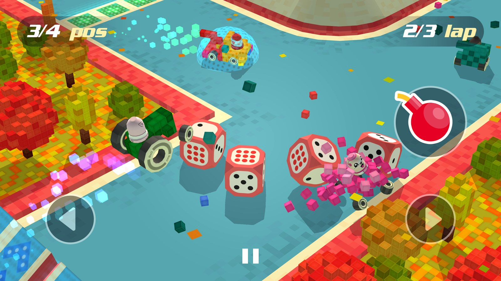 Blocky Racing - Imagem 1 do software