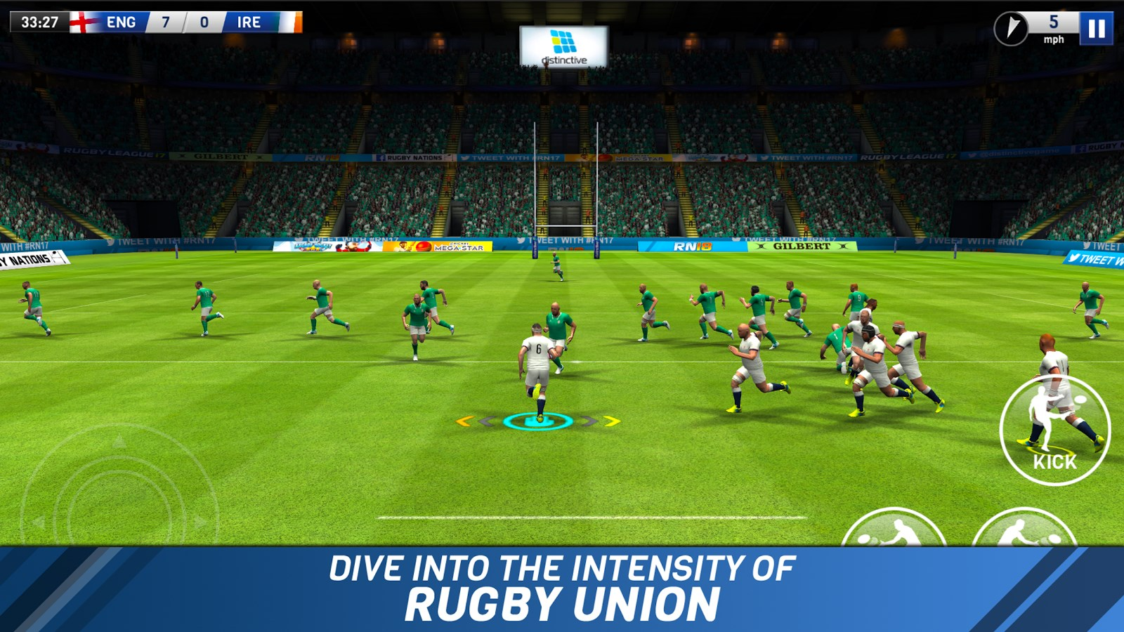 Rugby Nations 18 - Imagem 1 do software