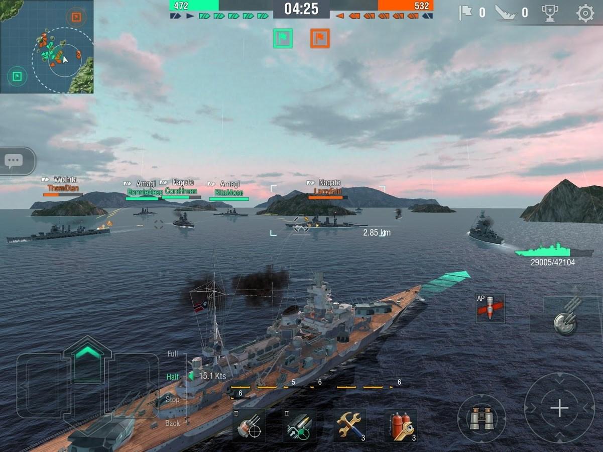 World of Warships Blitz - Imagem 1 do software
