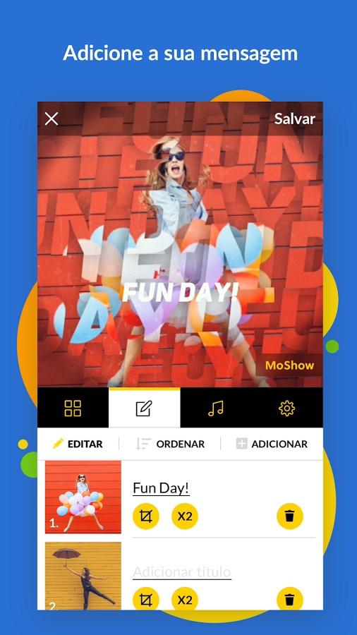MoShow - Imagem 2 do software