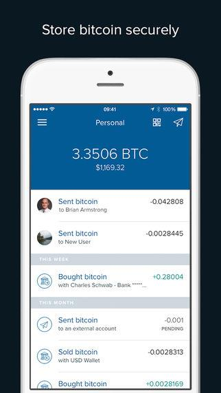 Coinbase - Bitcoin Wallet - Imagem 1 do software