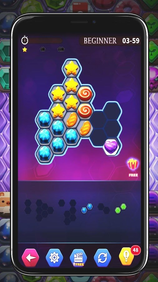 Hexa Puzzle Classic - Imagem 2 do software