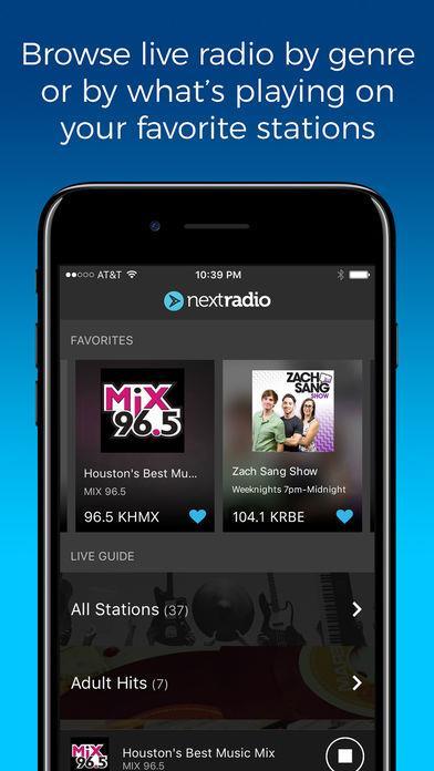 NextRadio - Live FM Radio - Imagem 1 do software