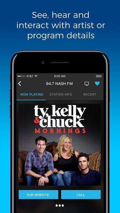 NextRadio - Live FM Radio - Imagem 2 do software