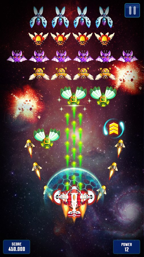 Space Shooter: Galaxy Attack - Imagem 1 do software