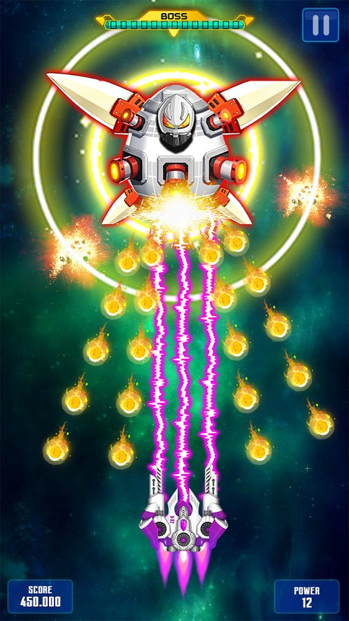Space Shooter: Galaxy Attack - Imagem 2 do software