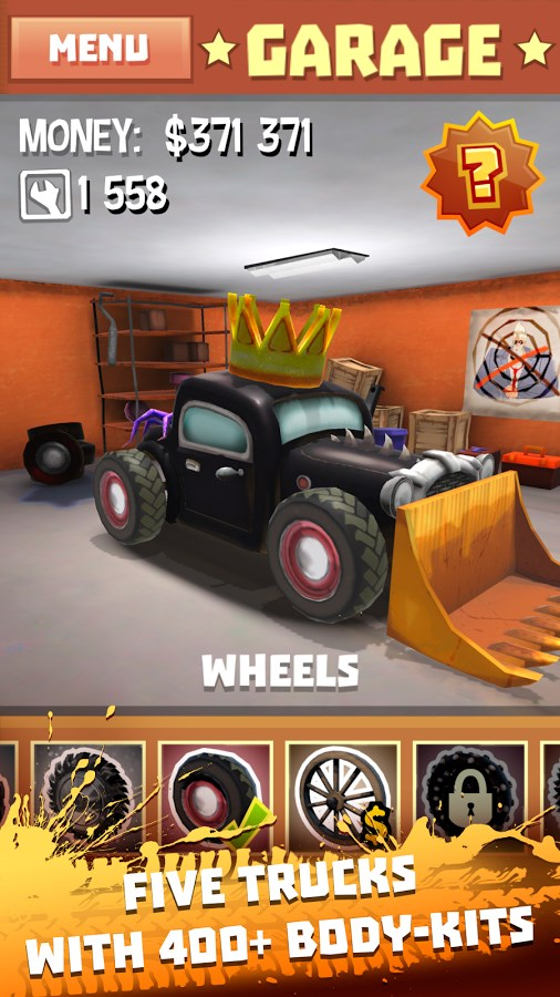 Freak Truck: Crazy Car Racing - Imagem 2 do software