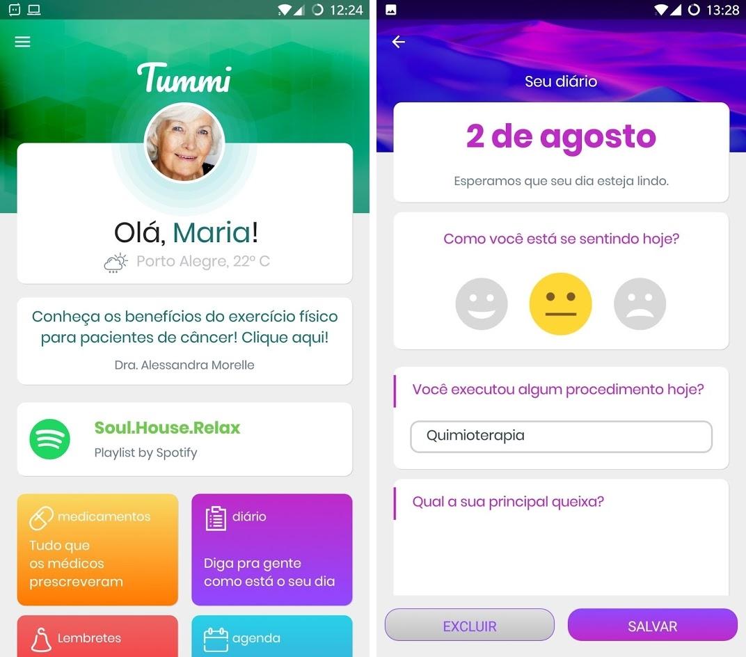 apps paciente com cancer