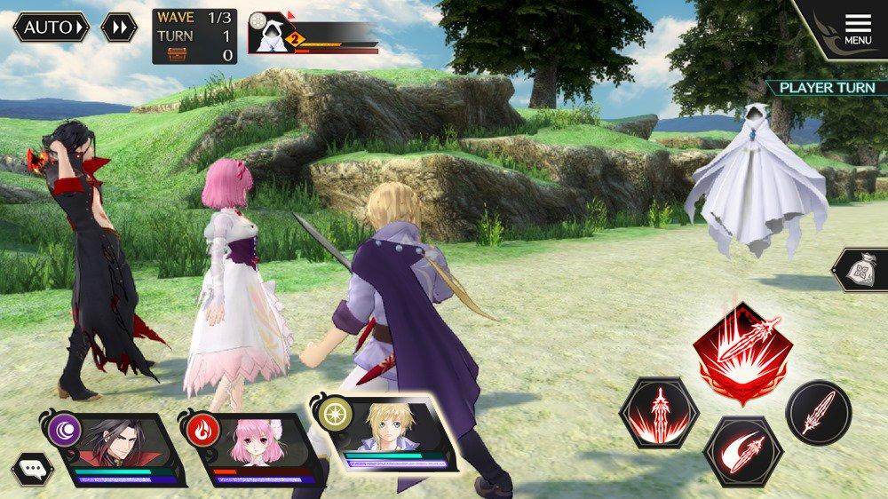 Tales of Crestoria, game da série de mobile, ganha novas screenshots