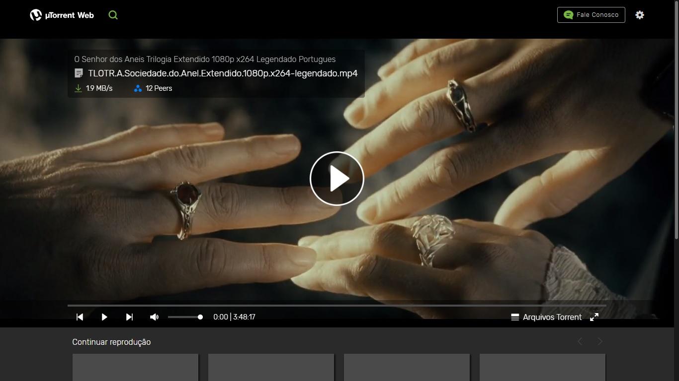 uTorrent Web - Imagem 2 do software