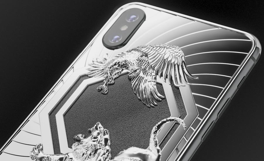 iPhone XS Max de titânio promove luta do UFC e custa US$ 5,4 mil 10091146560002