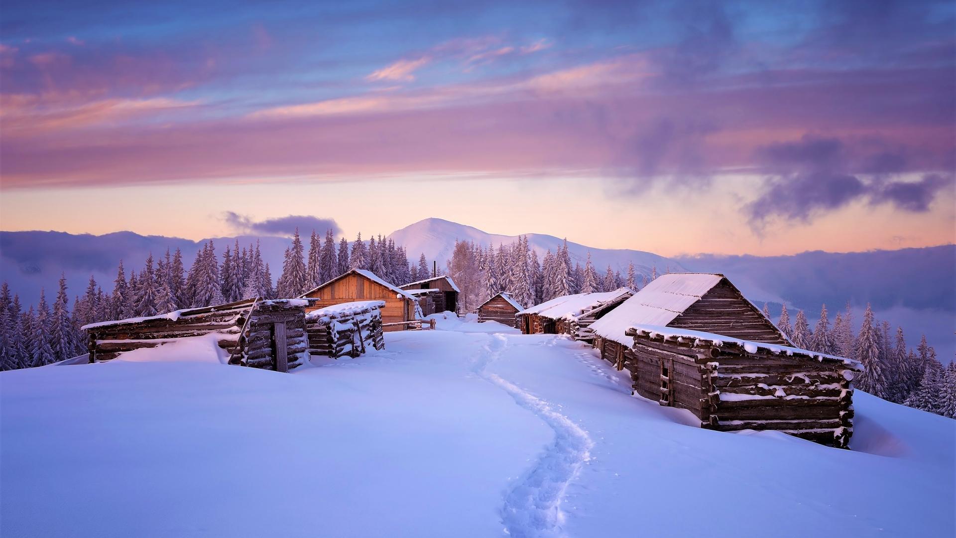 Scenic Snow Theme - Imagem 1 do software