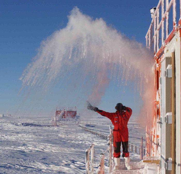 Aventuras na Antártida