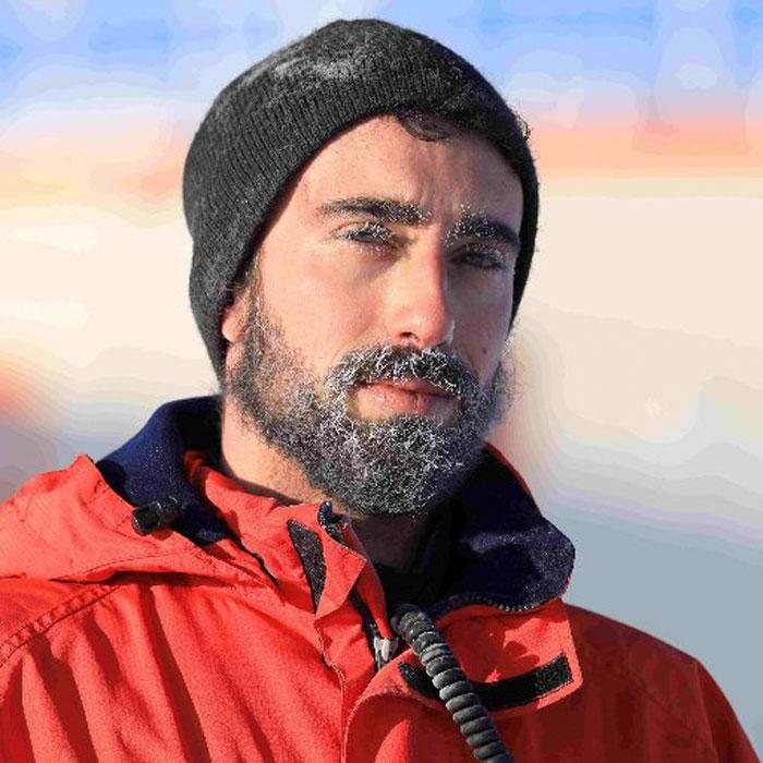 Cientista na Antártida