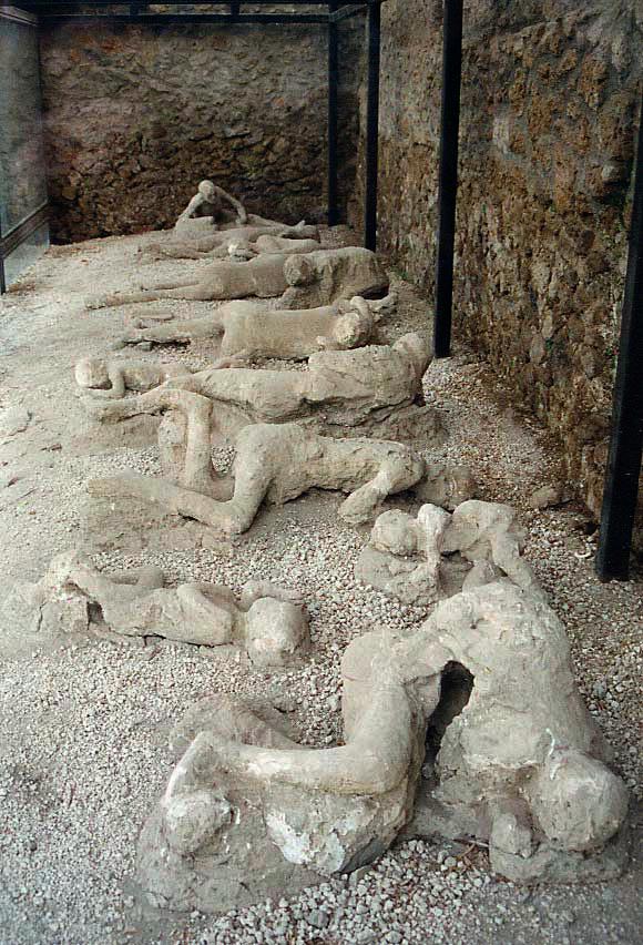 Corpos de Pompeia
