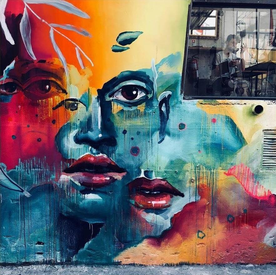 Grafite e janela