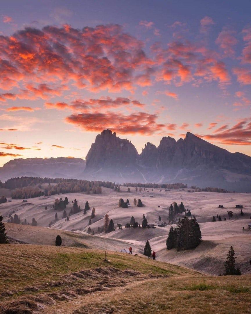 Paisagem e montanhas