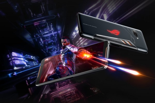 download the official background image on the asus rog phone