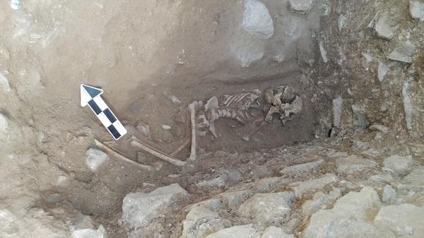 Esqueleto de criança