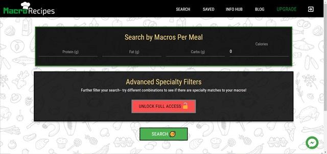 MacroRecipes - Imagem 1 do software