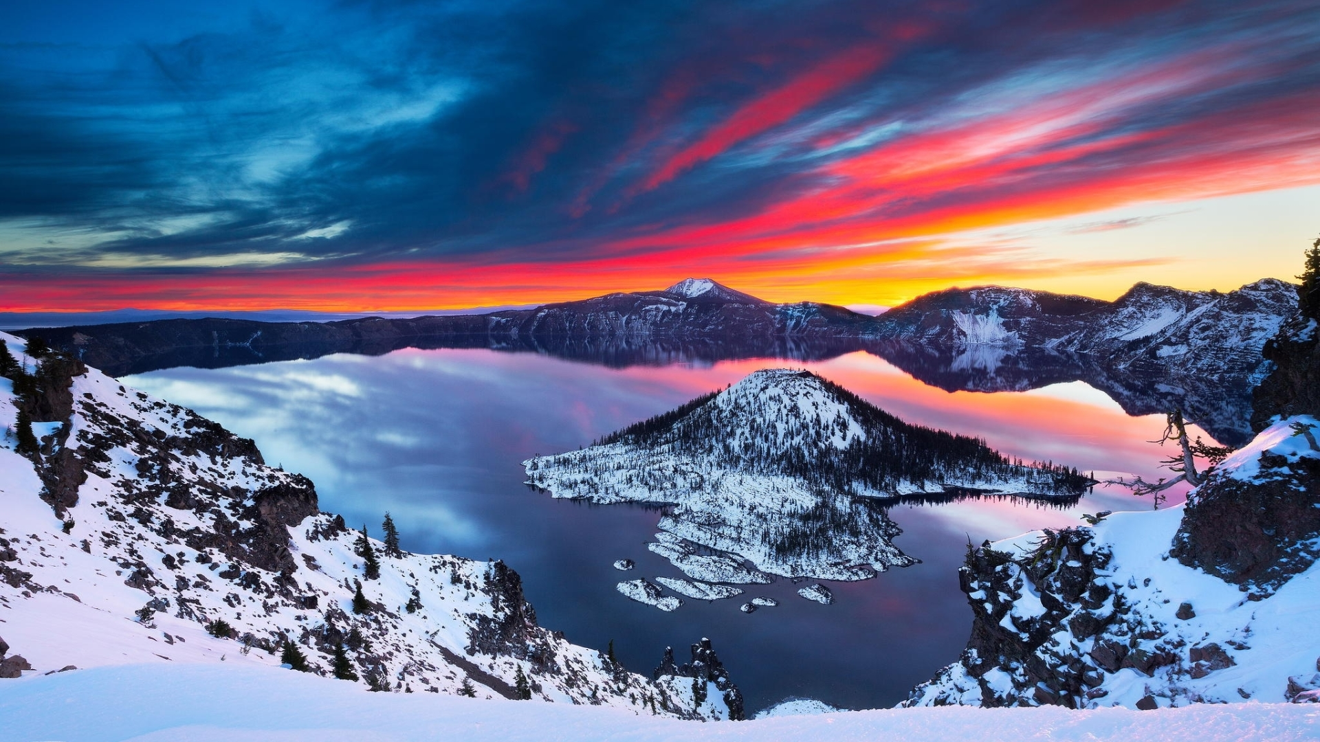 Crater Lake Theme - Imagem 1 do software