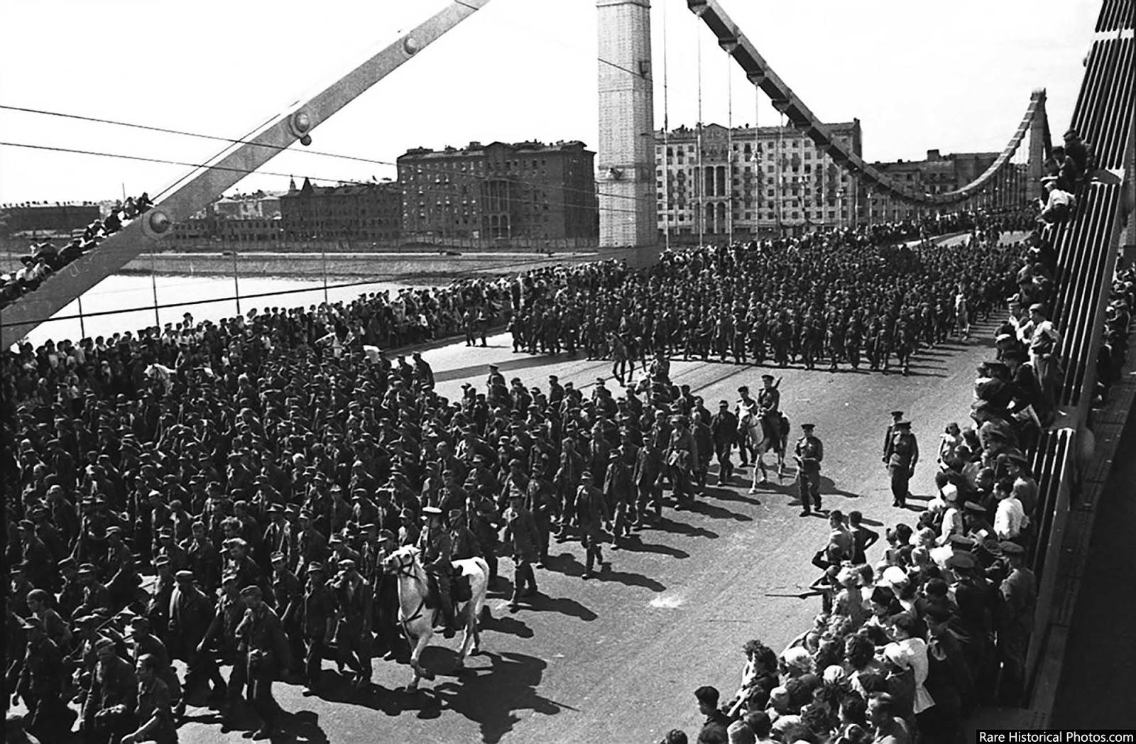 Desfile humilhante em Moscou