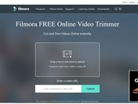 Imagem 1 do Filmora Online Video Trimmer