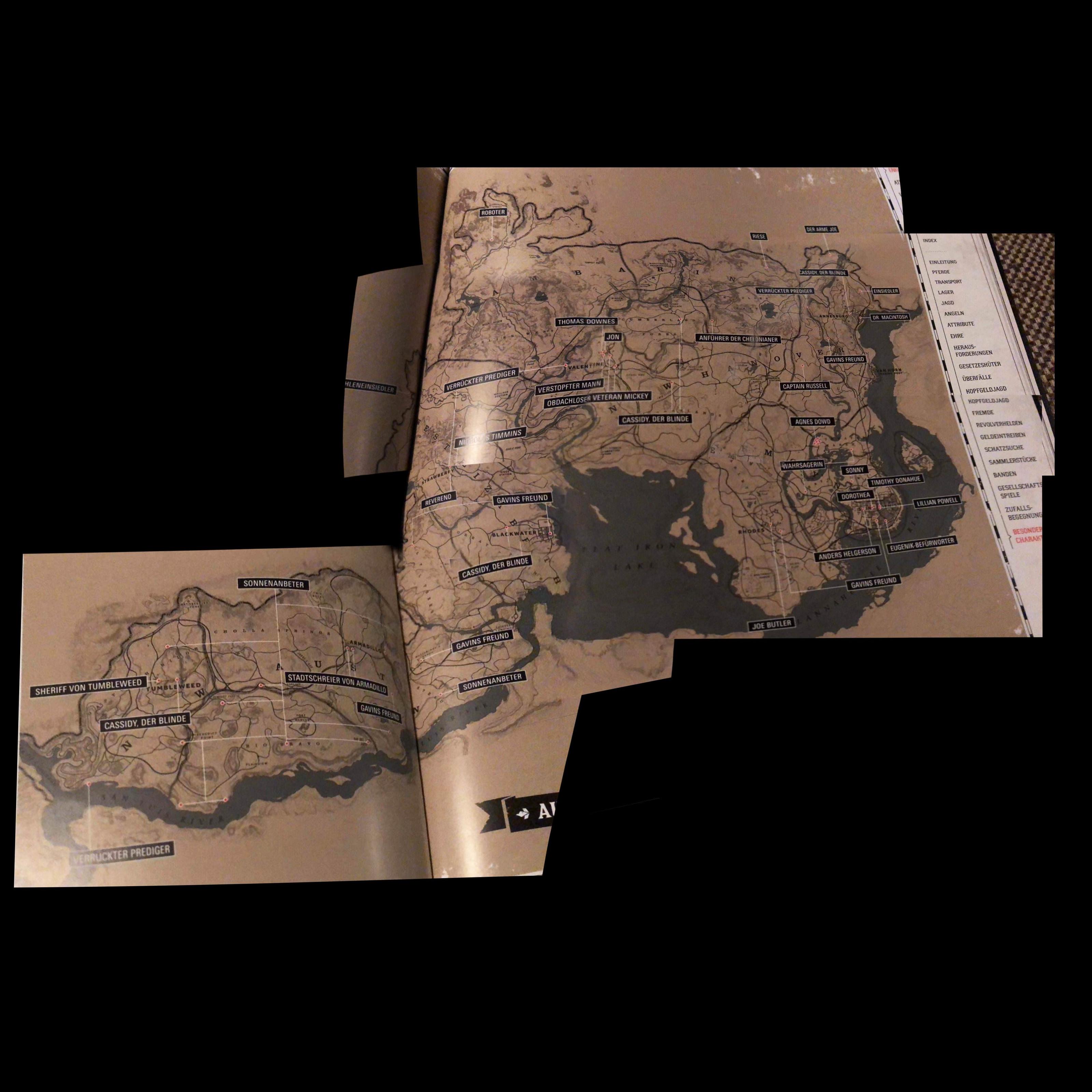 Spoilers: mapa completo de Red Dead Redemption 2 vaza na internet